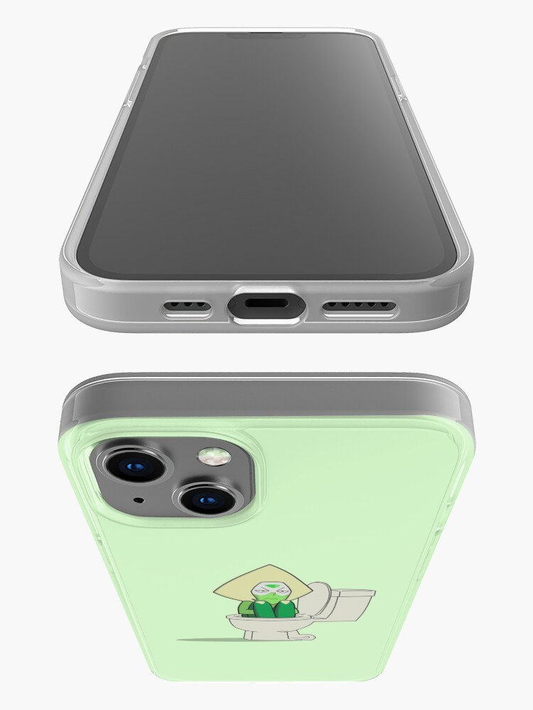 Alternate view of Steven Universe - Peridot In the Toilet iPhone Case