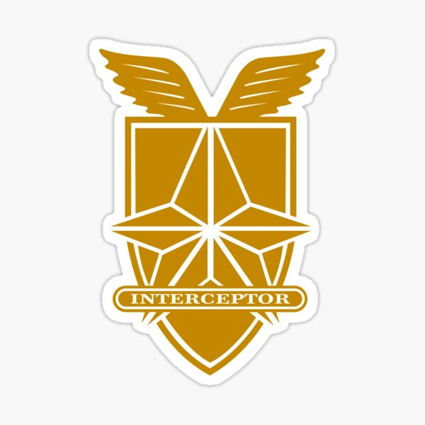 Insignia del Interceptor Mad Max Pegatina