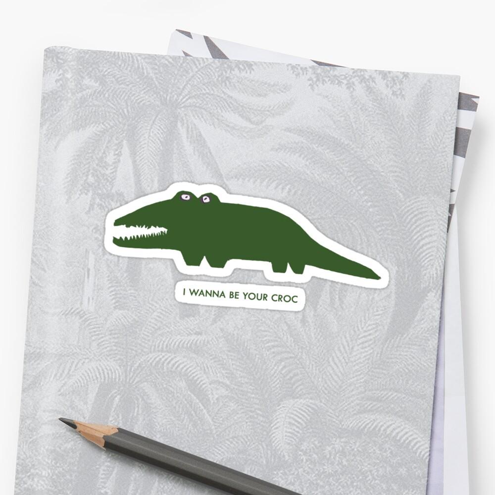 Iggy Croc Sticker