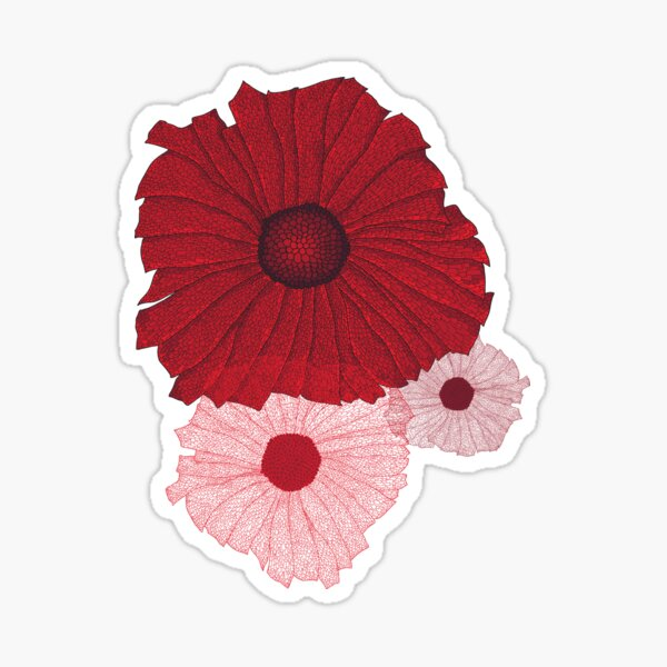 Poppy Tee V1 Sticker