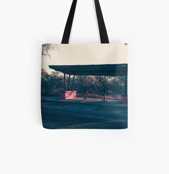 Rest Stop All Over Print Tote Bag