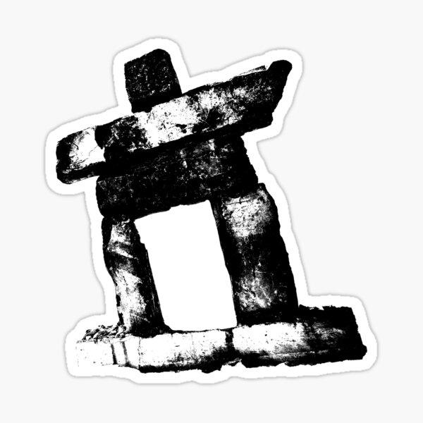 Canada rock man -BLACK- Sticker