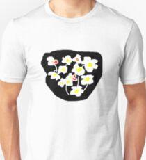 Black and white flowers T SHIRT T-Shirt