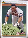 467 - Lonnie Smith by Foob's Baseball Cards