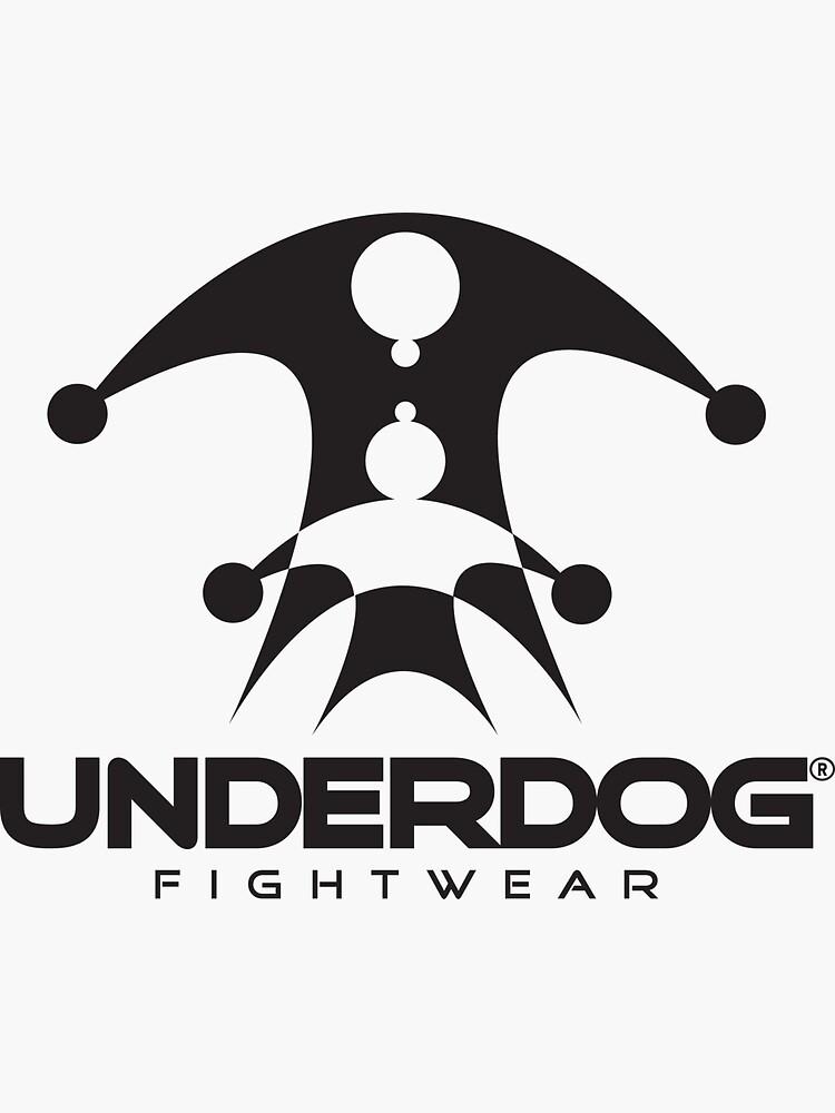 UNDERDOG logo tee, light by Underdogg
