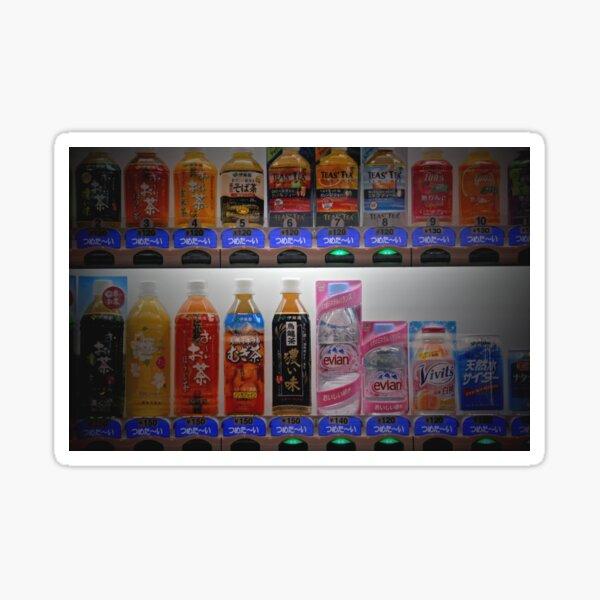 Automne au Japon: Choisissez une boisson, une boisson Sticker