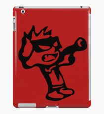 Spiff's Death Ray (Red) iPad Case/Skin