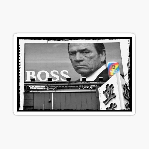Automne au Japon: Tommy Lee Jones - Patron des Bad-Asses Sticker