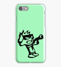 Spiff's Death Ray (Green) iPhone Case/Skin