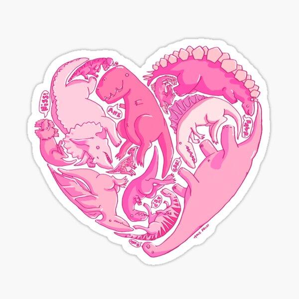 Loveasaurus Sticker