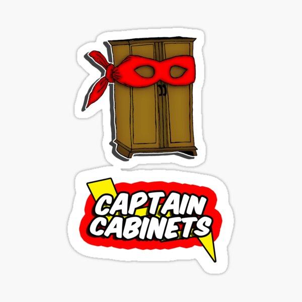 Captain Cabinets Sticker