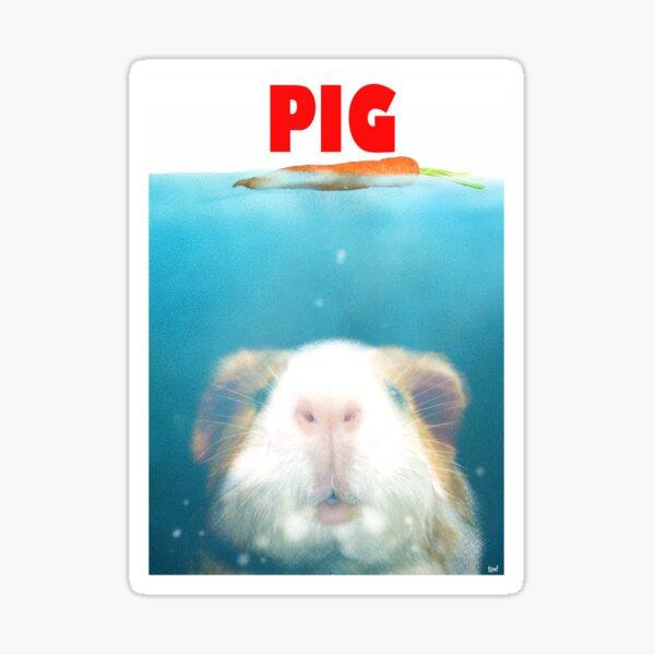 Sea Pig Sticker