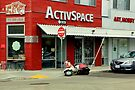 Not So Active Parking Space by Michael May
