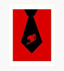Fairy Tail - Tie Art Print