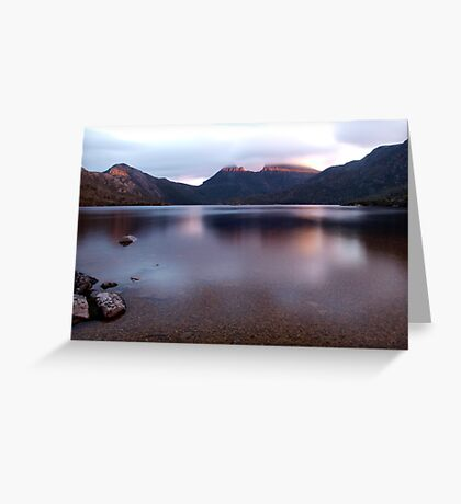 Dove Lake and Cradle Mountain Greeting Card