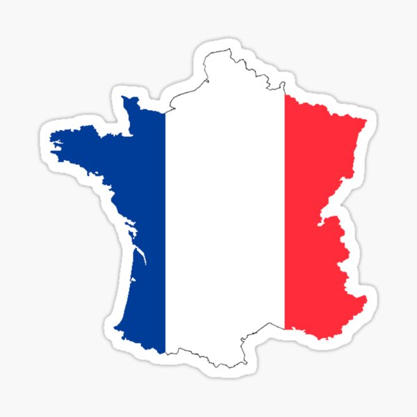 "France ""Hexagone"" T-Shirt Sticker"