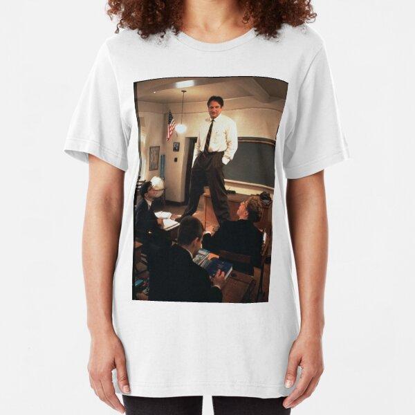 Dead Poets Society Shirt/Sticker Slim Fit T-Shirt
