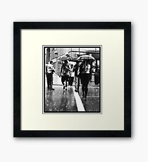 Death March Framed Print