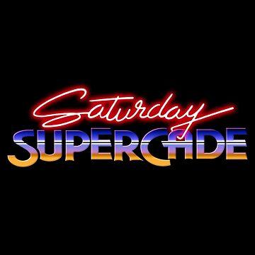Saturday Supercade by CCCDesign