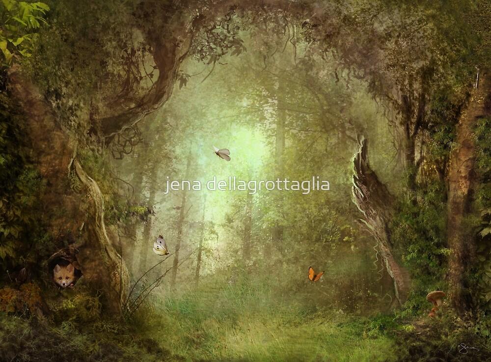 Butterfly Grove by jena dellagrottaglia