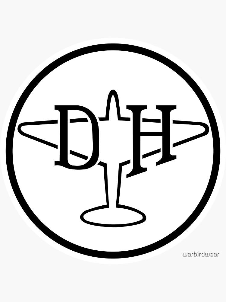 de Havilland Aircraft Company Logo by warbirdwear
