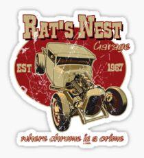 The Rat's Nest Sticker