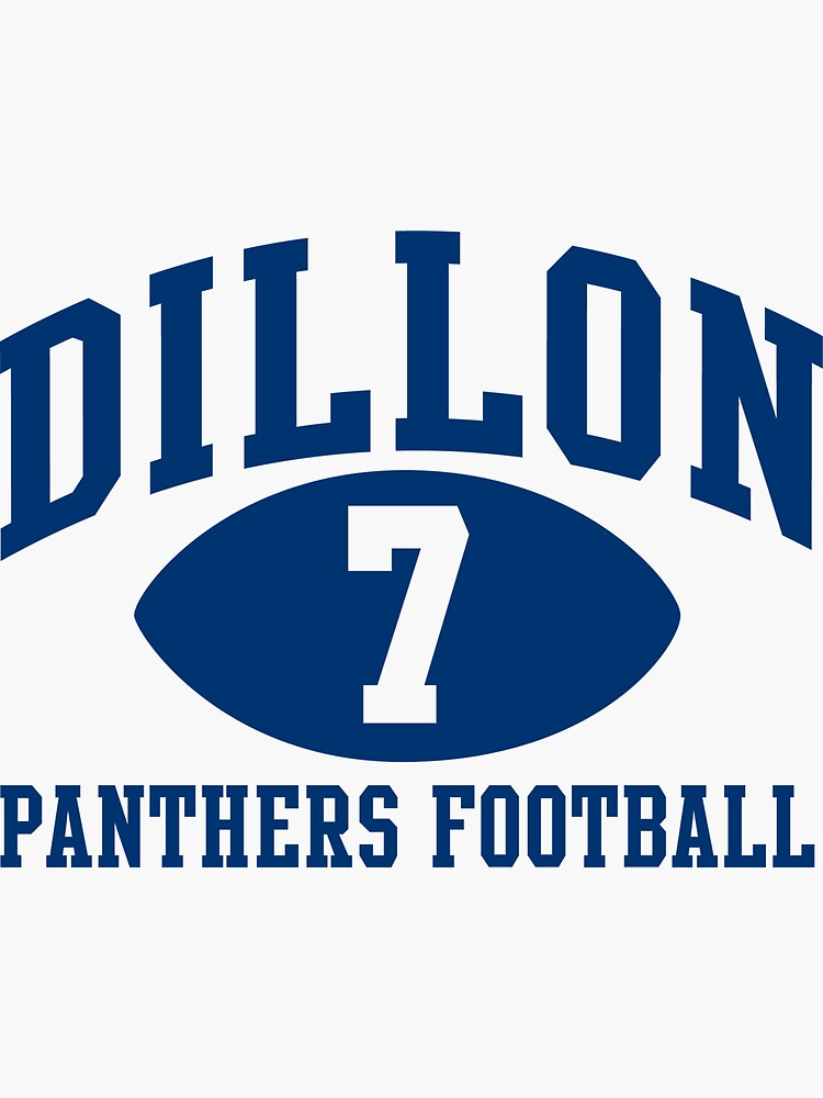 Dillon Panthers Football #7 by pootpoot
