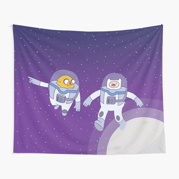 Space Adventure (Adventure Time) Tapestry