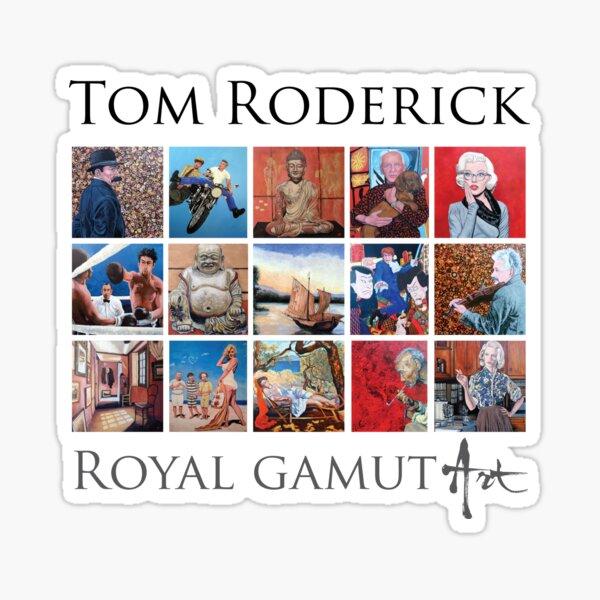 Tom Roderick - Royal Gamut Art Sticker