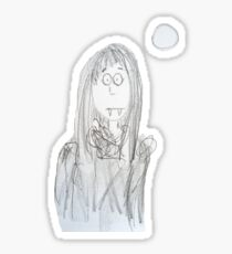 Vampire girl Sticker