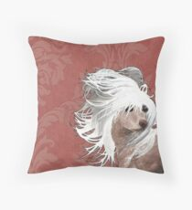 Chinese Crested  Throw Pillow