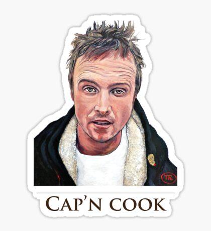 Cap'n Cook Sticker