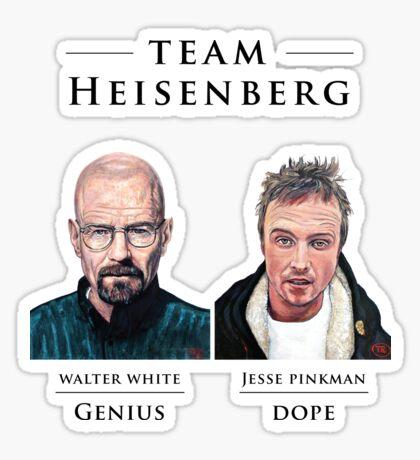 Team Heisenberg Sticker