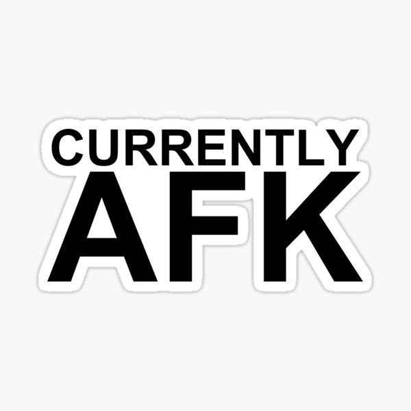 Derzeit AFK Sticker