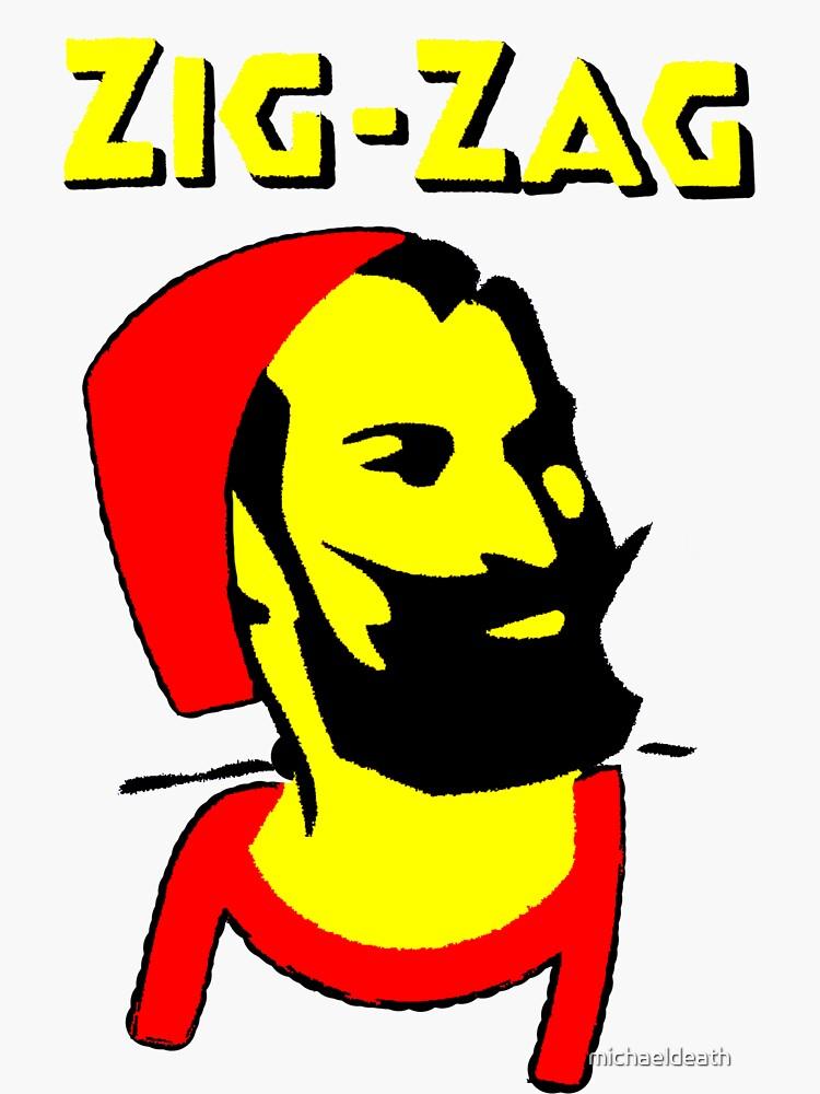ZIG-ZAG PAPER by michaeldeath