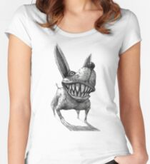 Great White Bark Women's Fitted Scoop T-Shirt