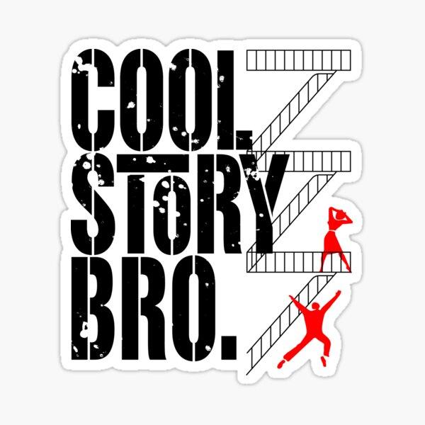 West Side Story, Bro. (Black) Sticker