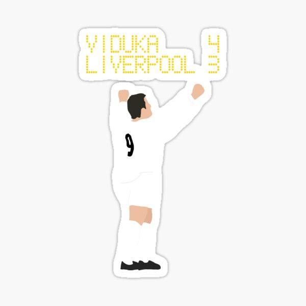 Mark Viduka 4 Liverpool 3 Sticker