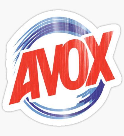Avox Logo (distressed) Sticker