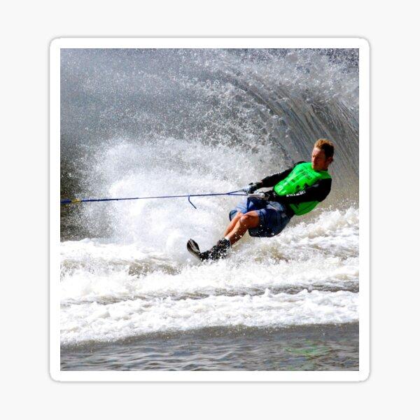 Water-skiing Sticker