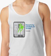 Camisetas de tirantes para hombre Señal de metro de MTA NYC Es Showtime