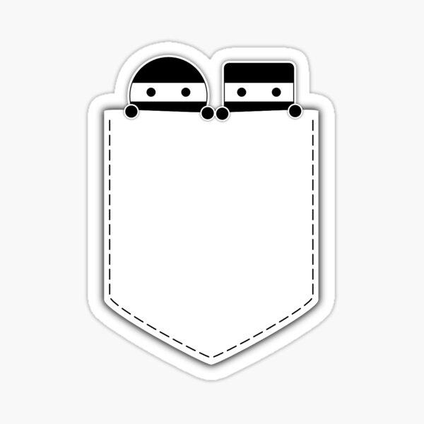 Pocket Ninjas - two lof bees Sticker