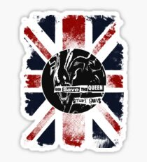 God Save the Alien Queen Glossy Sticker
