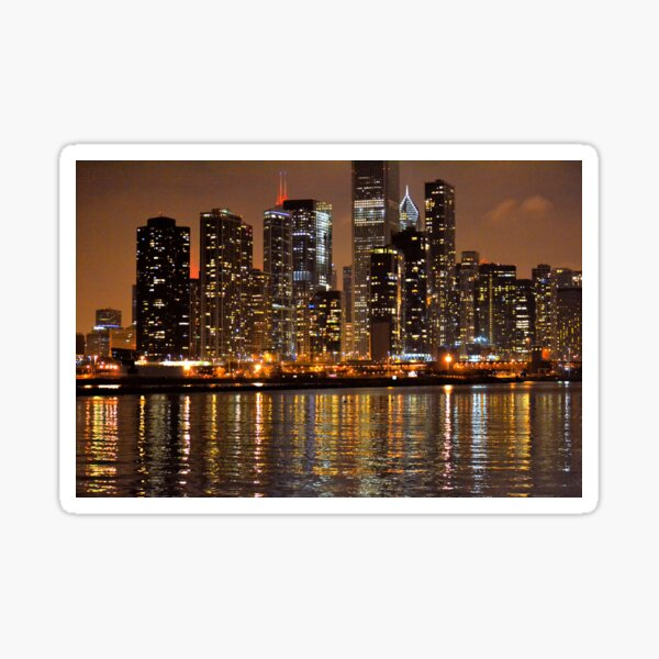 Chicago Lights Sticker
