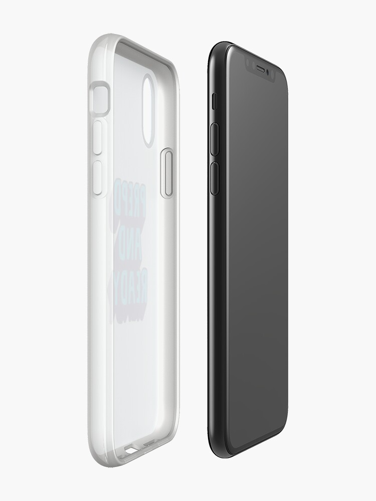 Alternate view of PrEP'D and Ready iPhone Cases & Covers
