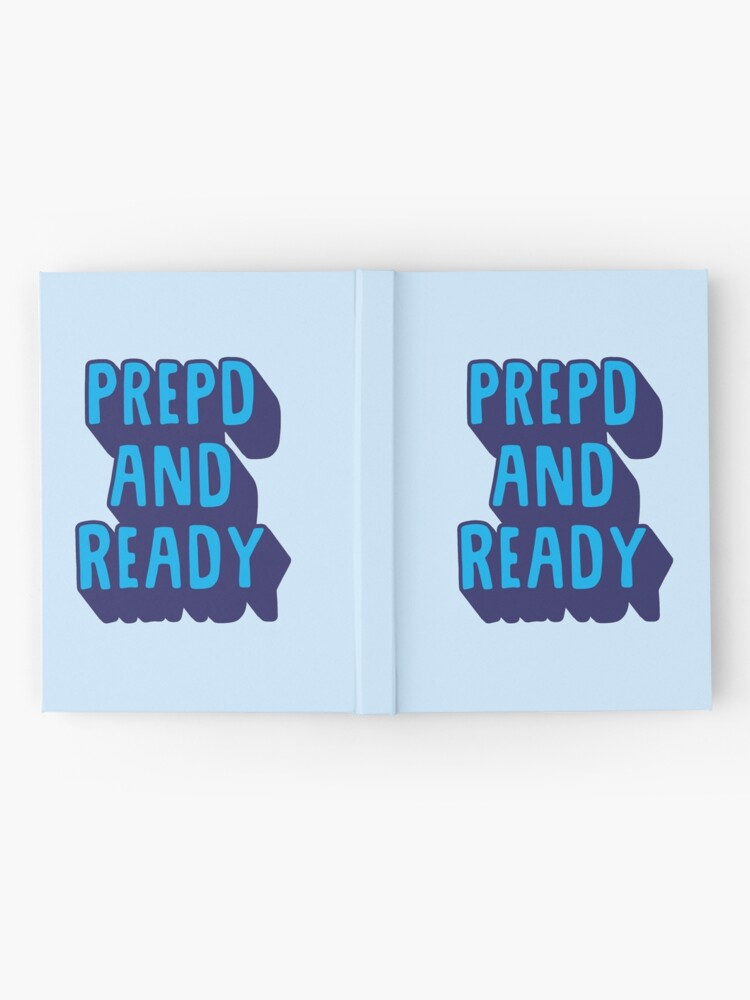 Alternate view of PrEP'D and Ready Hardcover Journal
