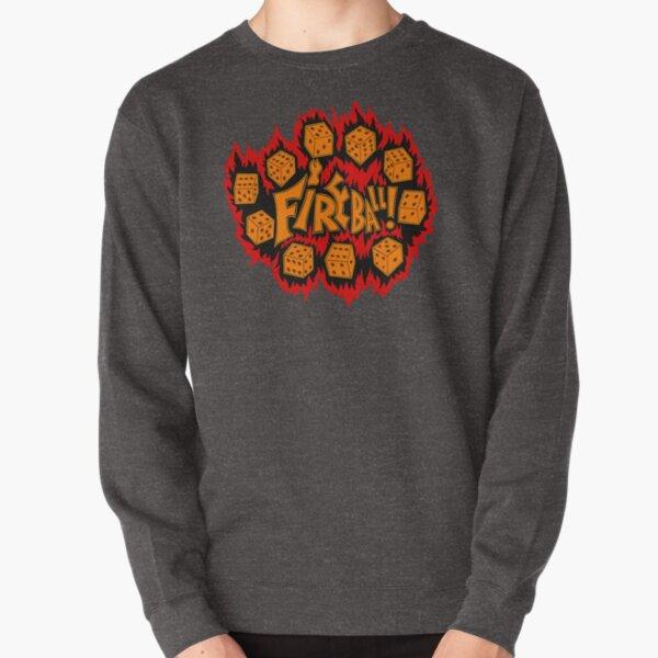 Fireball Spell - Roll for Damage! Pullover Sweatshirt
