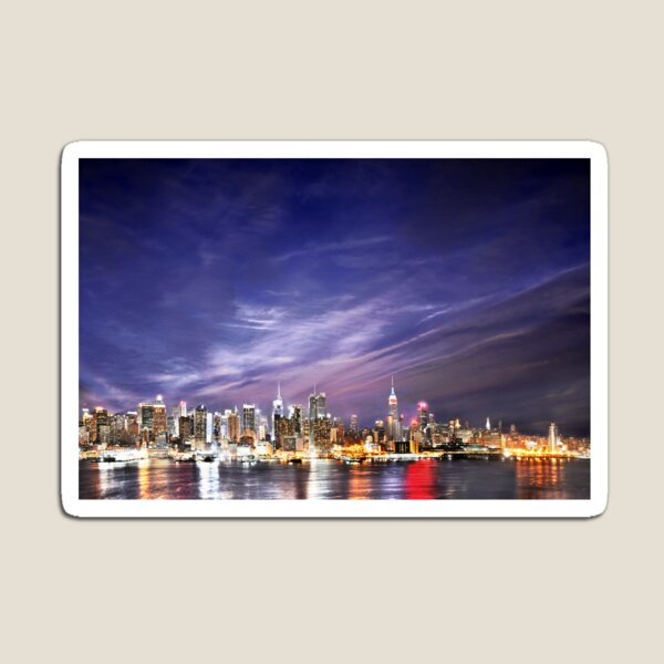 Manhattan Skyline: NYC Magnet