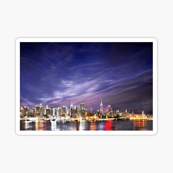 Manhattan Skyline: NYC Sticker