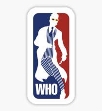 WHO Sport No.10 Sticker